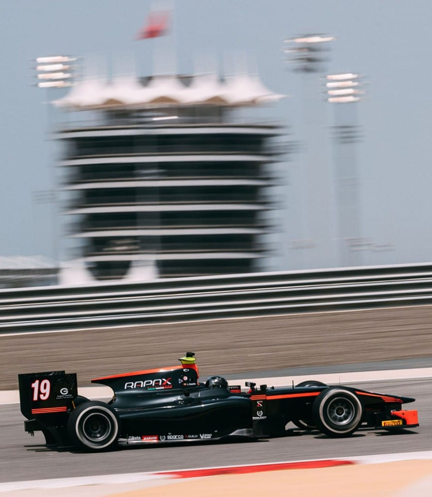 Bahrain International Circuit, Sakhir, Bahrain. Thursday 30 March 2017 Johnny Cecotto (VEN) Rapax  Photo: Malcolm Griffiths/FIA Formpula 2 ref: Digital Image MALC7061