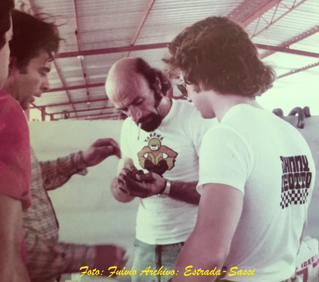 78271 PEDRO BETANCOURT, FERRUCIO DALLE FUSINE Y JOHNNY CECOTTO EN SAN CARLOS 1977