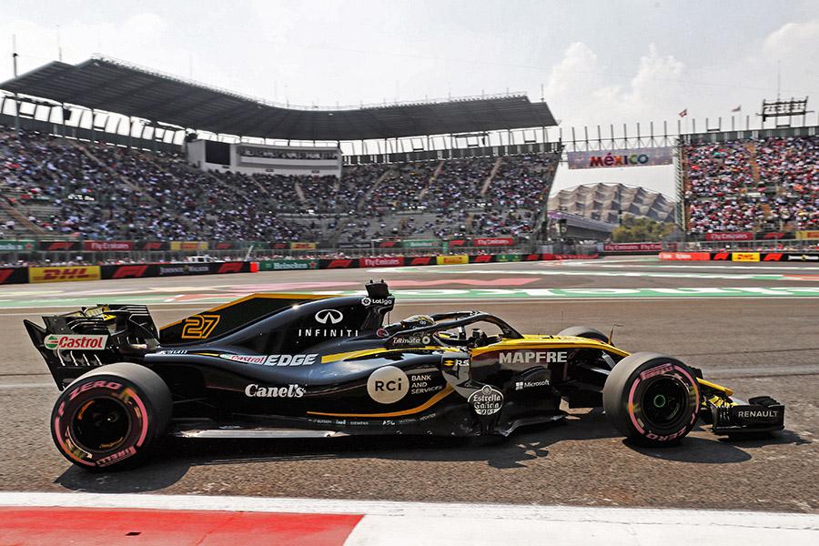 Excelente 7º lugar para Nico Hulkenberg de Renault-Canel´s en el Gran Premio de México