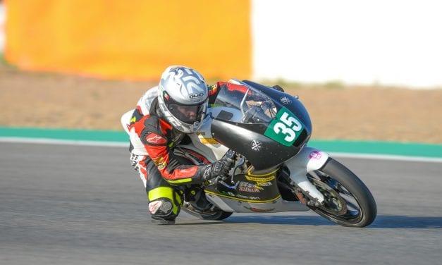 Team Curia Semilla Azteca en su debut en el Campeonato de España de Superbike