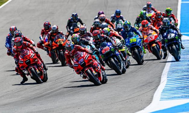 Las Ducati retumban el circuito de Jerez