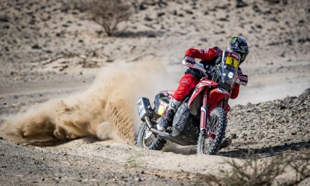 Brabec y Cornejo representan al Monster Energy Honda Team en el Sonora Rally