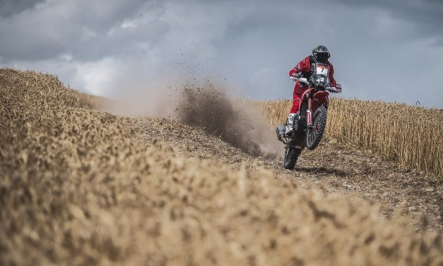 El Monster Energy Honda Team, preparado para participar en el Andalucía Rally