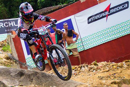Ricardo Preciado en el Top 10 del Downhill Brasileño