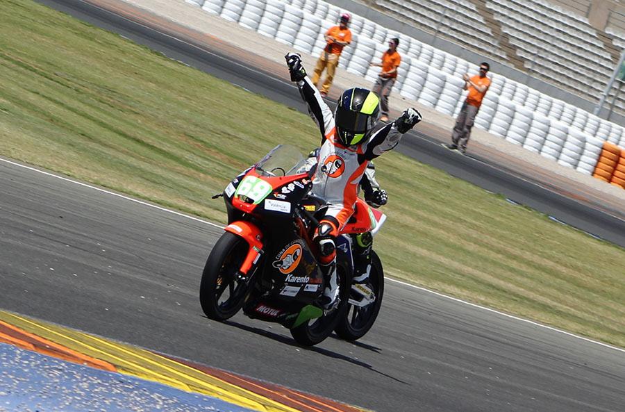 2 victorias y una segunda posición para el equipo de la Cuna en el RFME CEV de Valencia