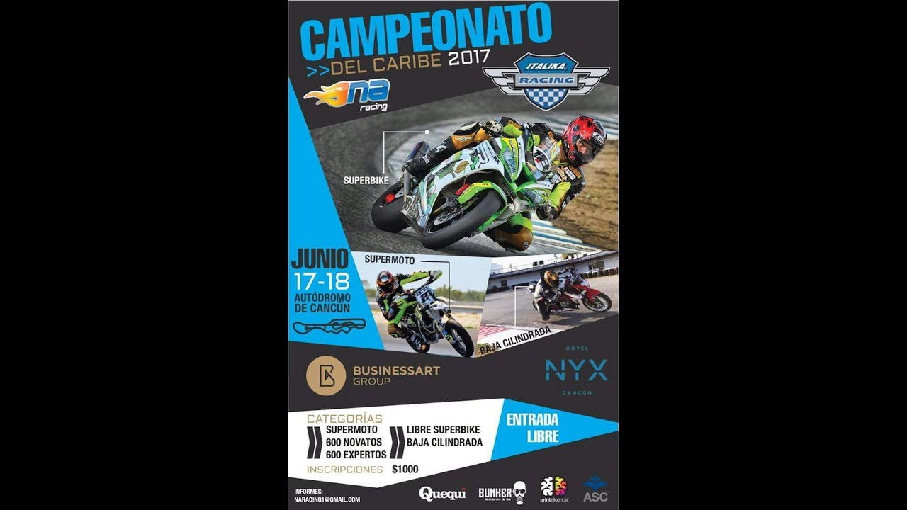 VIDEO: Campeonato del Caribe NA Racing – Business Art Group