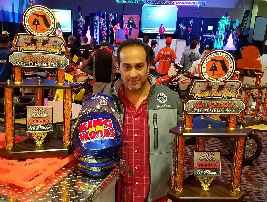Raúl Cutillas prolonga éxitos en trazados de Florida