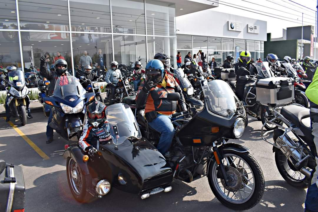 Gran reunión entre bikers y autoridades este domingo en la Plaza de Armas en SLP