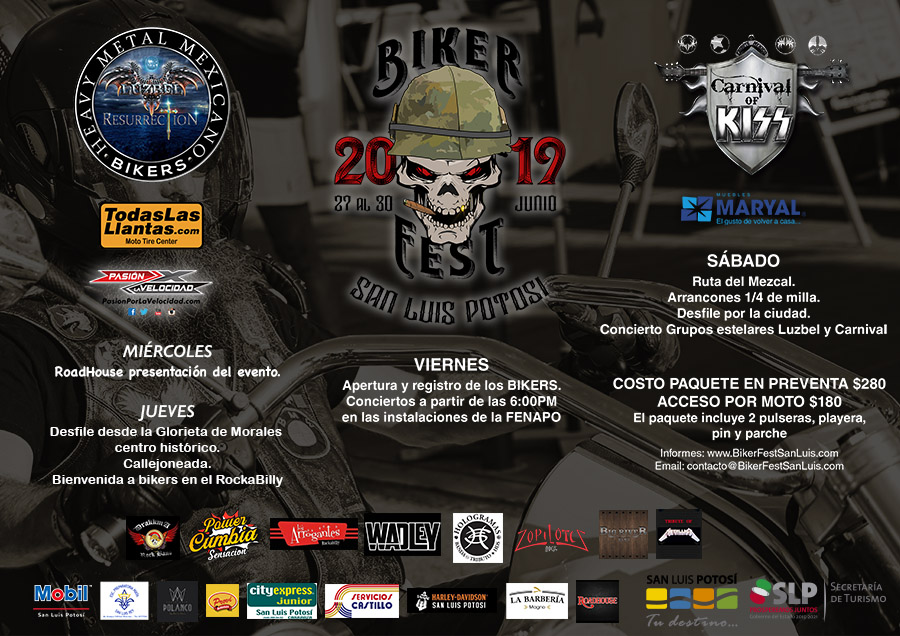Biker Fest San Luis Potosí 2019