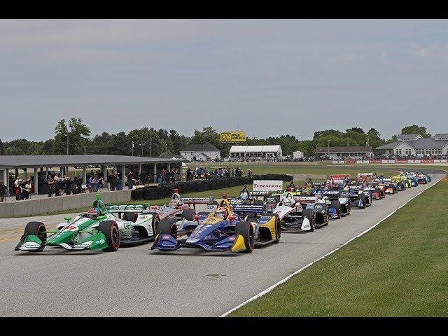 VIDEO: NTT IndyCar Series Round 10 Road America RACE 2019