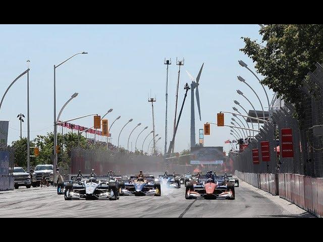 VIDEO: Honda IndyCar Series 2019 Toronto Round 11 RACE