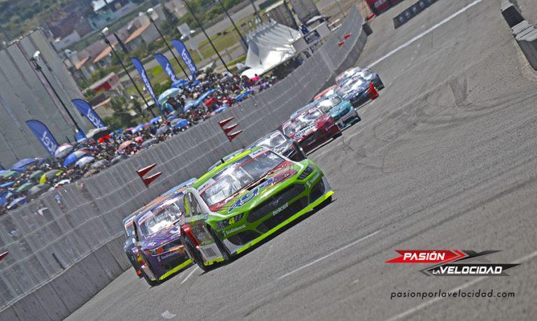 Salvador de Alba Jr gana en el Óvalo EcoCentro Querétaro ronda 7 de NASCAR México