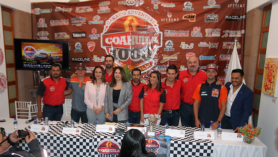 Reunirá Coahuila 1000 Desert Rally a los mejores exponentes: Programa de Actividades