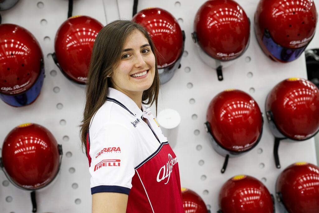 Por tercera ocasión Tatiana Calderón probará un F1