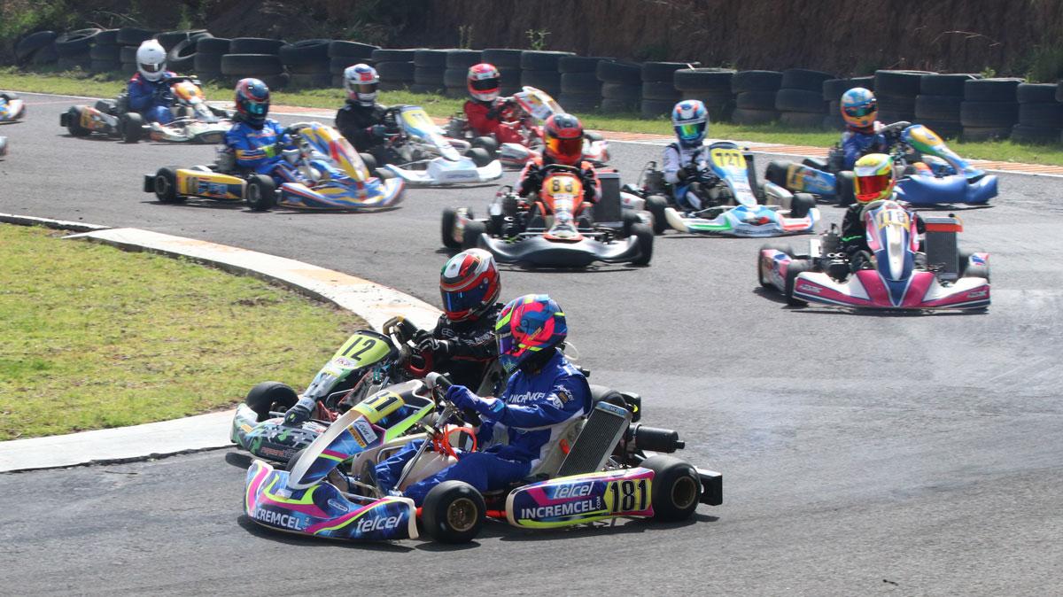 Interesante debut de Octavio Rosales en Fórmula Karts
