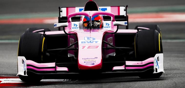 Tatiana Calderón lista para el GP de F2 en SPA