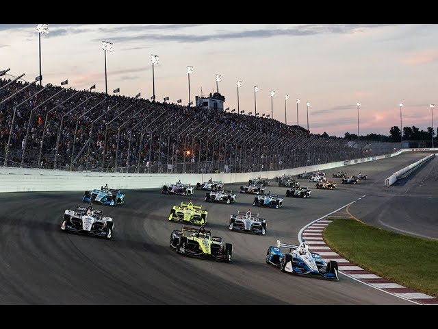 VIDEO: NTT IndyCar Series 2019 Round 15 RACE Bommarito Automotive Group 500