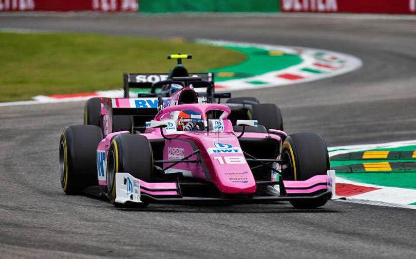 Tatiana Calderón cumplió fecha del FIA F2 en Monza