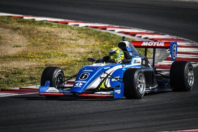 Moisés De La Vara a la final de Indy Pro 2000 en Laguna Seca 2019