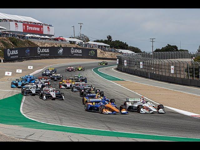 VIDEO: Round 17 NTT IndyCar Firestone Grand Prix Laguna Seca 2019 RACE
