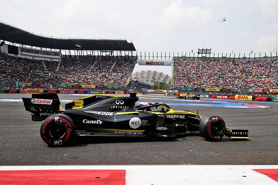 Top 10 para Renault F1 Team / Canel´s en el Gran Premio de México