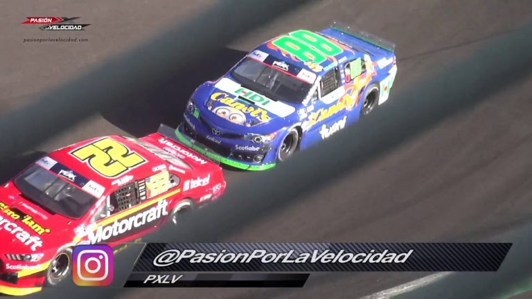 VIDEO: Nascar Peak México Series fecha 12 FINAL 2019 en el Autódromo Hermanos Rodríguez