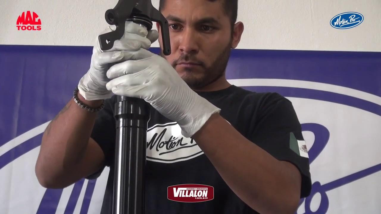 VIDEO: MOTION PRO México Herramienta para instalación de retenes de suspensión