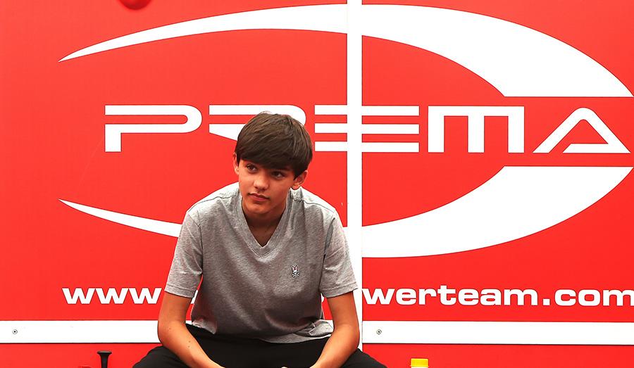 Sebastian Montoya piloto de la F4 para la temporada 2020 de Prema