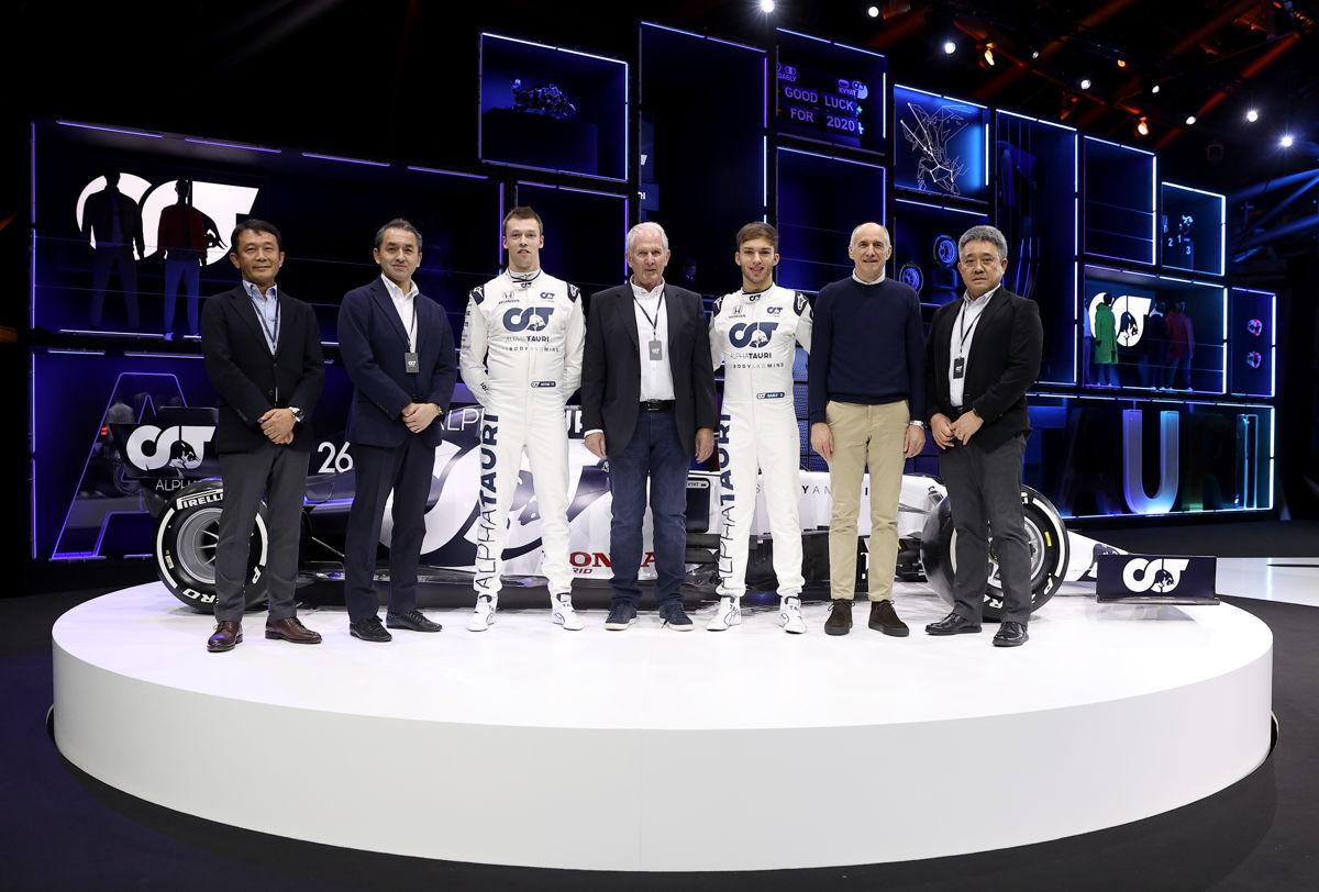 Scuderia Toro Rosso se convierte en Scuderia AlphaTauri