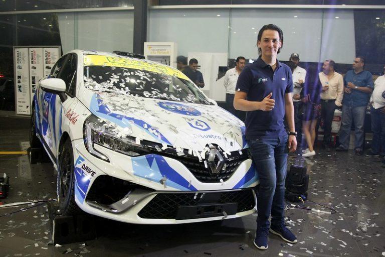 Se presenta el primer Clio Rally5 de la Copa Clio del Rally Guanajuato 2020