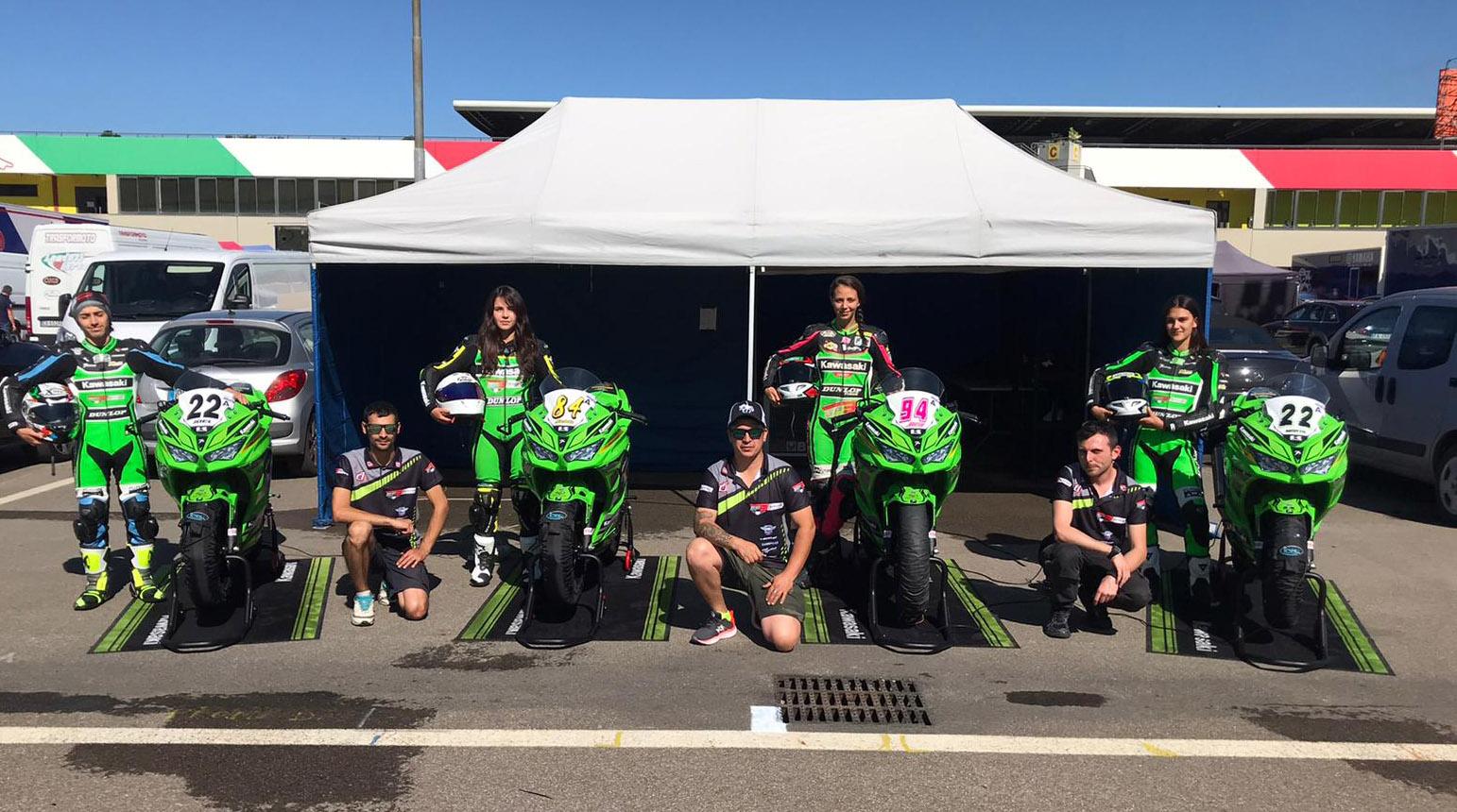 2 días de test para El equipo GP3 PA.SA.MA en Misano