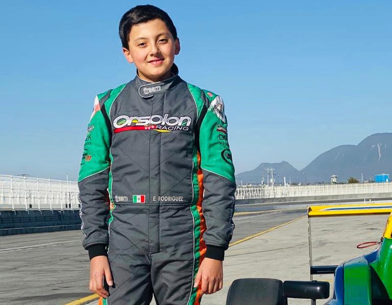 Emiliano Rodríguez correrá con la escudería brasileña PropCar Racing en la FÍA F4 NACAM