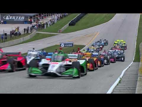 VIDEOS: IndyCar 2020 Road America Race 1 y 2
