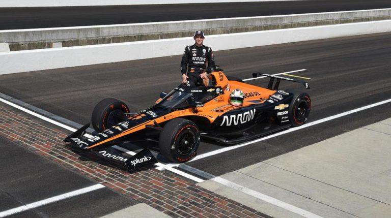 Pato O'ward califica para las 500 millas de Indianapolis