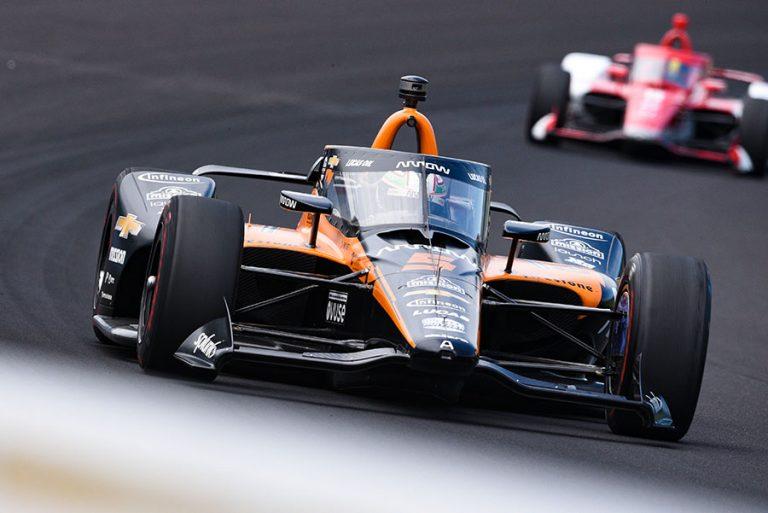 Patricio O'Ward gana el Novato del Año en Indy 500
