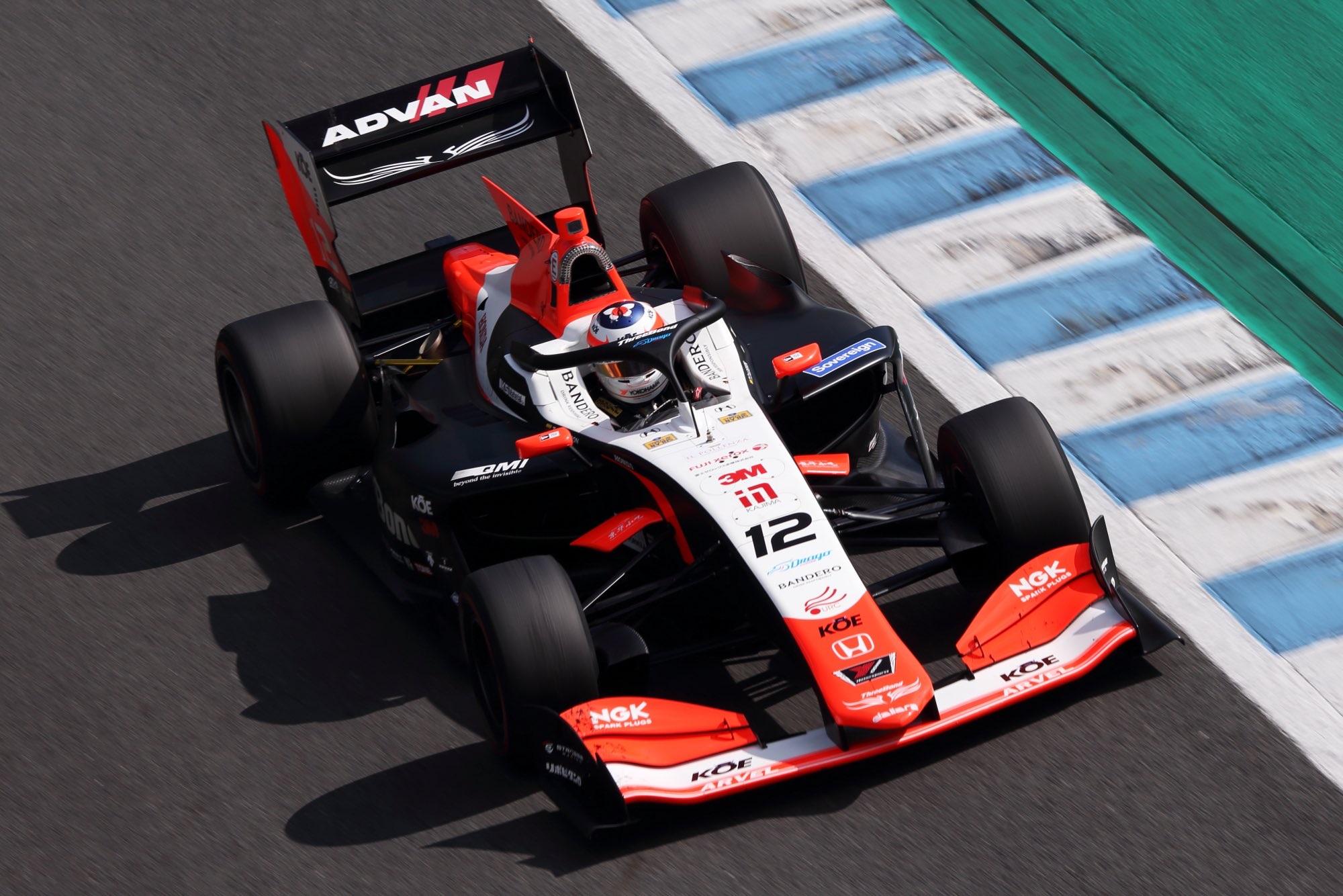 Desafiante debut de Tatiana Calderón en el inicio de temporada de la Súper Fórmula Japonesa