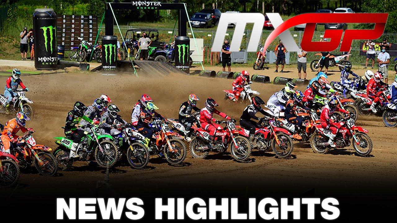 VIDEO: NEWS Highlights MXGP of Latvia 2020