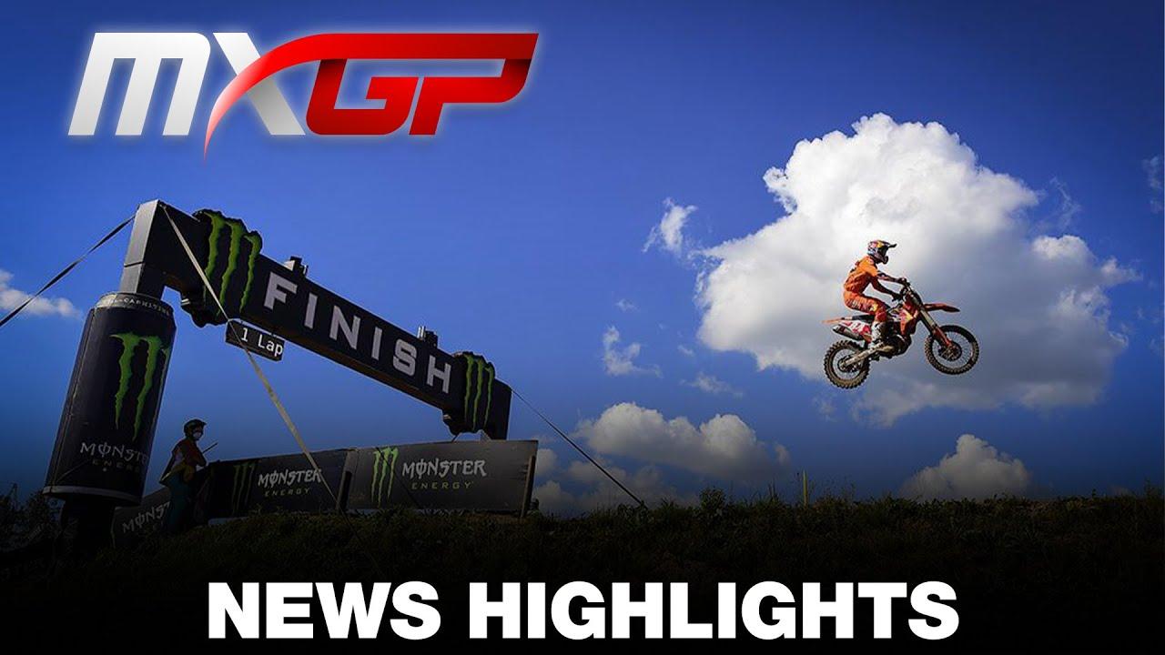 VIDEO: NEWS Highlights MXGP of Kegums 2020 Round 5
