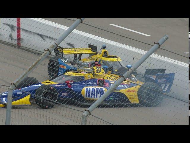 VIDEO: IndyCar 2020 Round 6 RACE 1 Bommartio Automotive Group