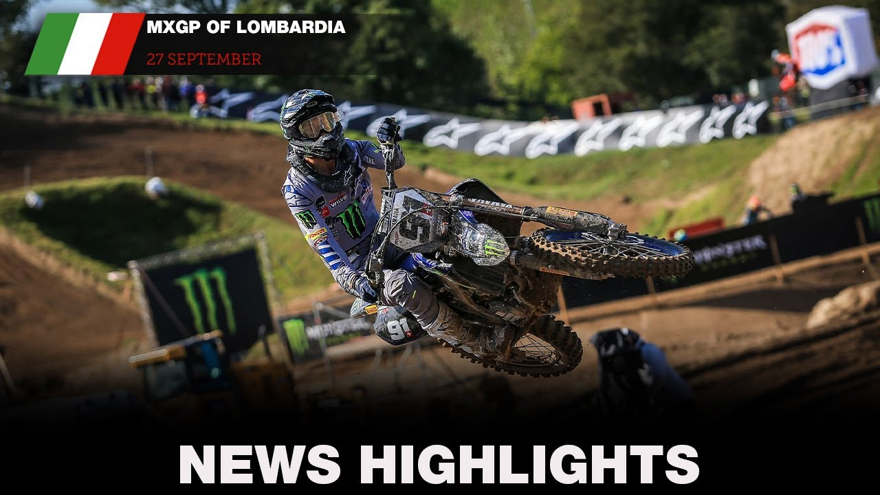 VIDEO: News Highlights – MXGP of Lombardia 2020 Round 9
