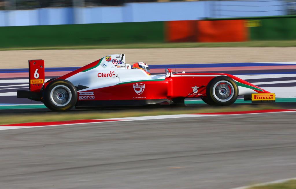 Sebastián Montoya se mantiene en el top 10 del Campeonato Italiano de F4