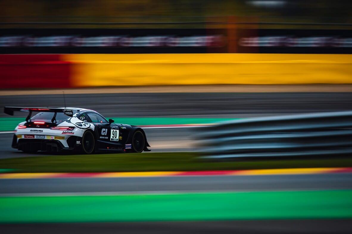 Ricardo Sánchez se queda a un paso del podio en Spa Francorchamps