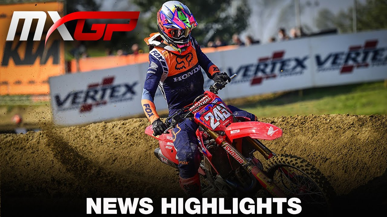 VIDEO: News Highlights – MXGP of EUROPE 2020 Round 11