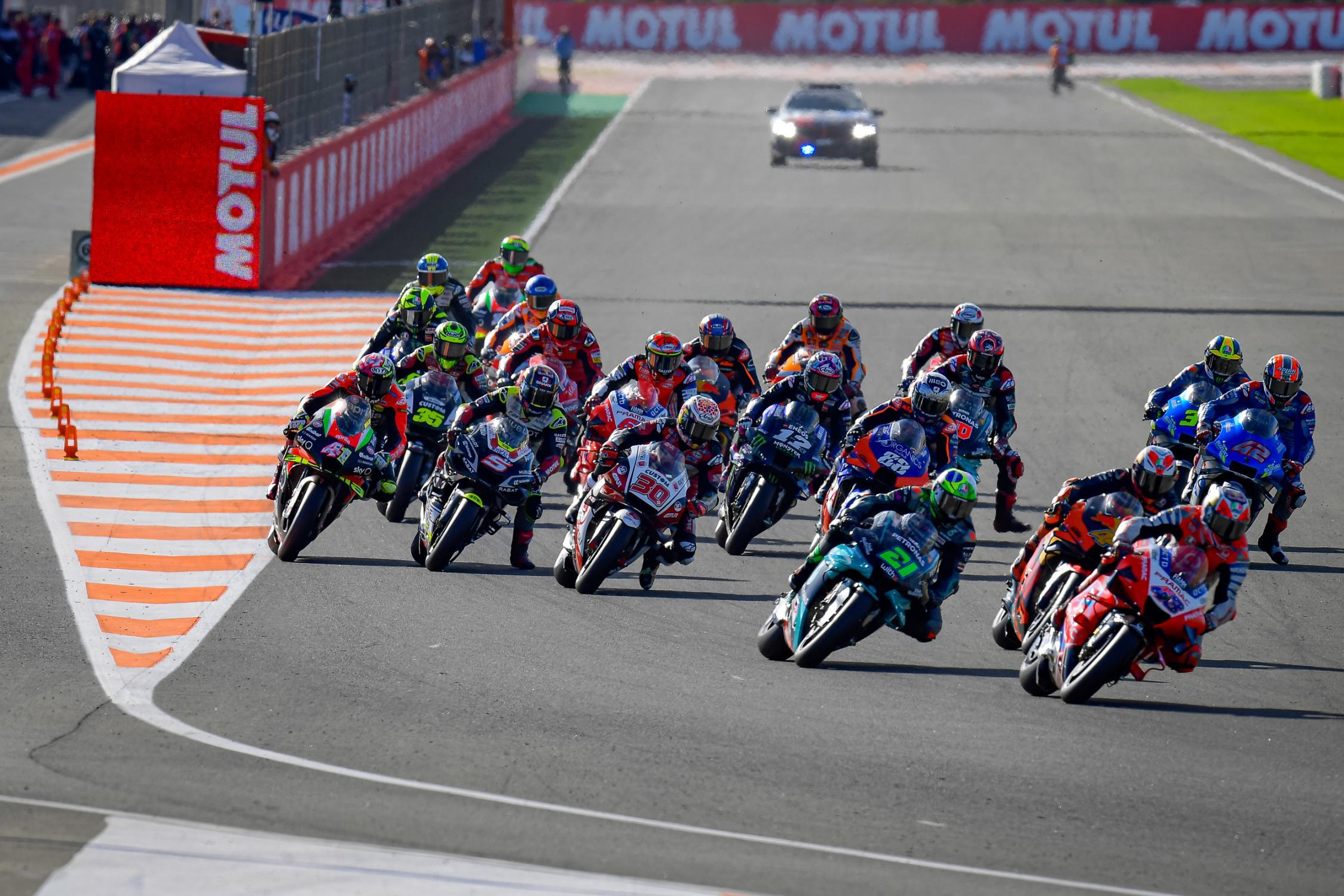 Franco Morbidelli con 3º victoria pero el campeonato es para Joan Mir #MotoGP