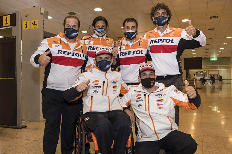 Isidre Esteve vuelve del Dakar 2021 muy satisfecho con su progresión