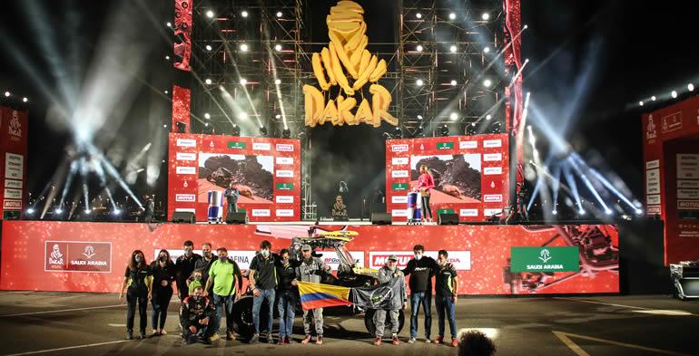 Mateo Moreno y Javier Vélez conquistaron el Rally Dakar 2021 en la modalidad Experience