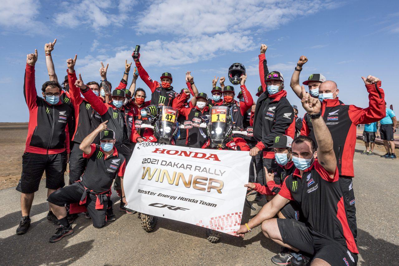 El doblete de Honda en el Dakar 2021