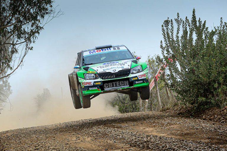 Equipo CBTech Rally cruza la cordillera para disputar el Rally Argentino