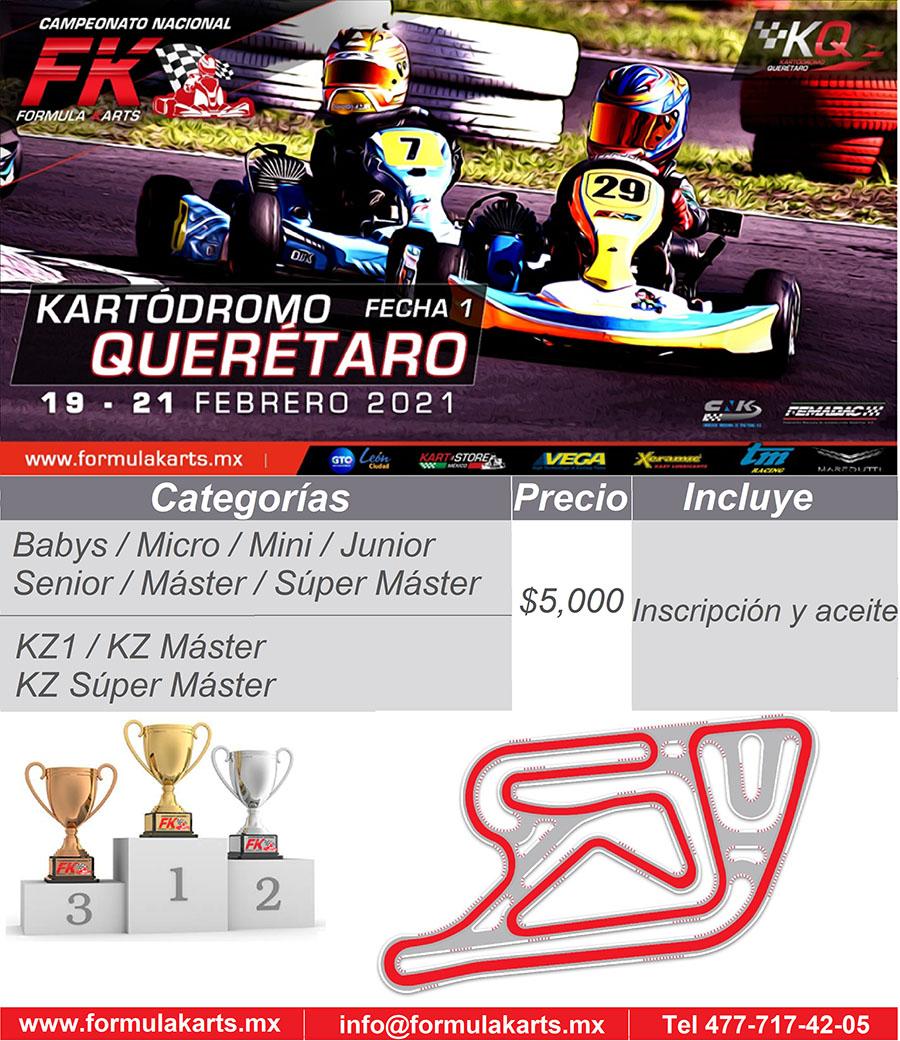 ¡2021 es nuestro año! Fórmula Karts