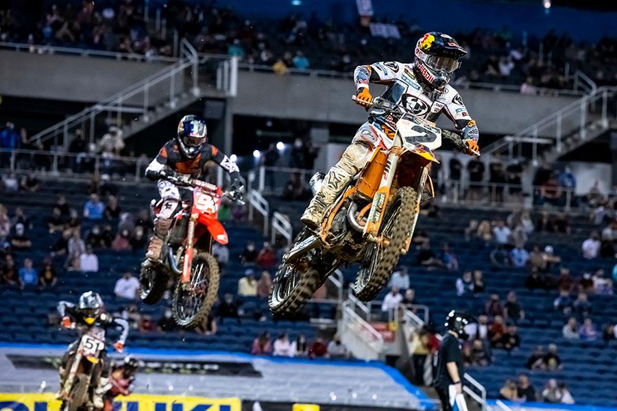 VIDEOS: Supercross Round #7 450SX y 250SX Highlights | Orlando, FL.